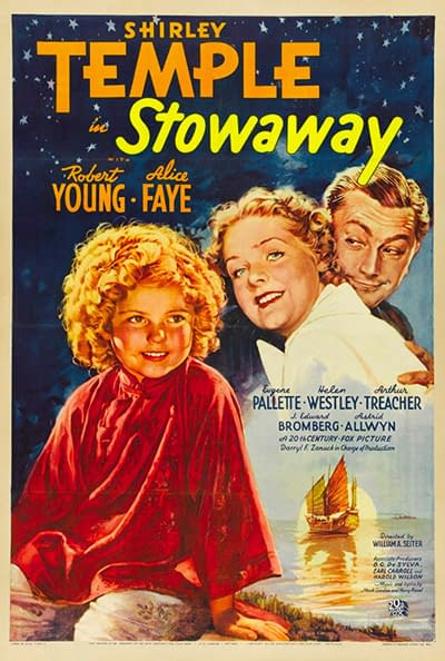 stowaway 1936 shirley temple century fox 20th starring poster afi young posters movies schedule blackgang adventures alice moviestvnetwork pm film