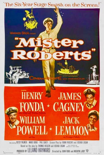 movies moviestvnetwork schedule tv mister roberts network 15am